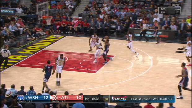GAME RECAP: Wizards 115, Hawks 99