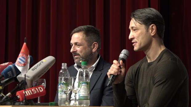 """Kovac gibt den Bayer: """"Do bin i dahoam!"""""""