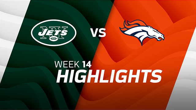Jets vs. Broncos highlights | Week 14