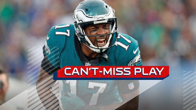 Can't-Miss Play: Alshon Jeffery's vice grip gives Eagles fourth-down TD