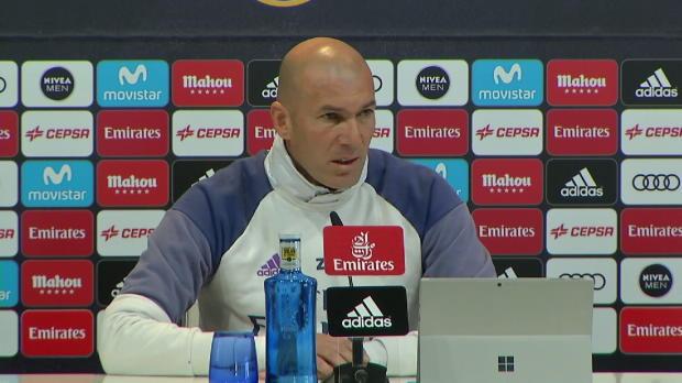 """Zidane warnt vor Valencia: """"Wird hart!"""""""