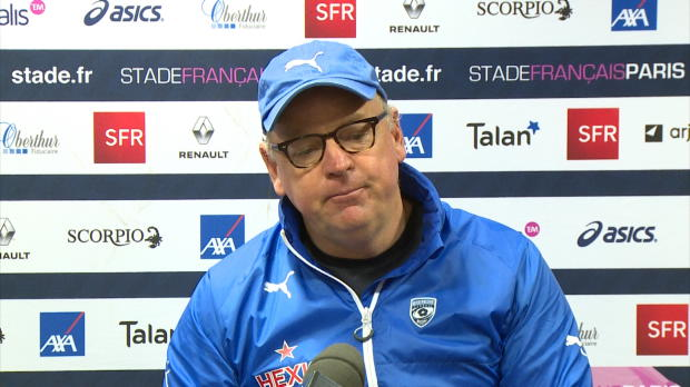 Top 14 - 21e j. : White : 'Le groupe a progress�'