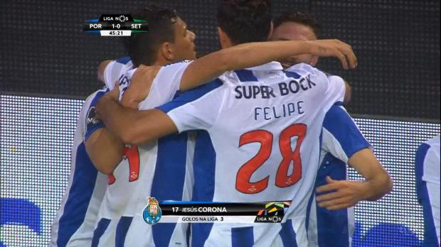 Corona, un gol da Re per il Porto