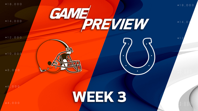 Cleveland Browns vs. Indianapolis Colts Week 3 game preview
