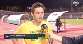 Mark Milligan says the Socceroos lacked quality in front of goal against Jordan.