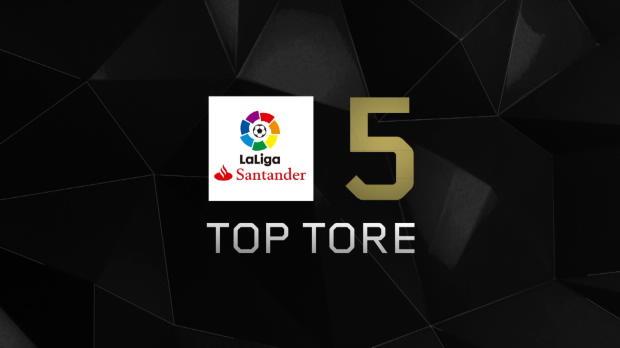 Top 5: Grätsche Griezmann und Suarez souverän