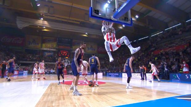 Basket : Euroligue (2e j.) - L'Etoile Rouge, avec Lessort, s'offre le Barça