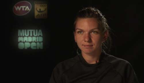 Halep Interview: WTA Madrid 3R
