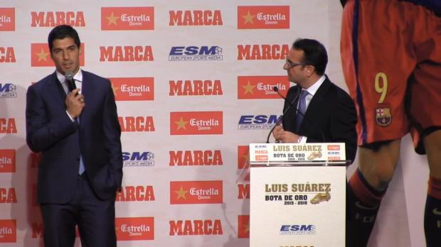 """Suarez: """"Dann gewinnen eben Messi oder Neymar"""""""