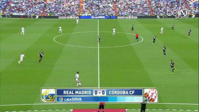Liga : Real Madrid 2-0 Cordoba