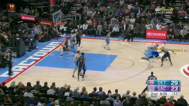 GAME RECAP: Pistons 106, Kings 90