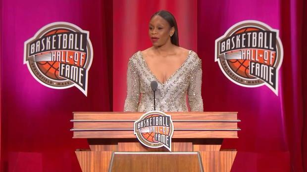 Hall of Fame Ceremony- Tina Thompson Speech