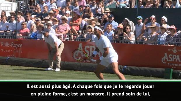 """Tennis : Interview - Ferrero - """"En pleine forme, Nadal est un monstre"""""""