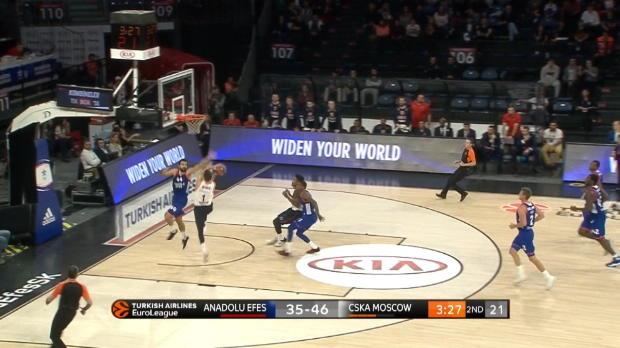 Basket : Euroligue (4e j.) - De Colo brille avec le CSKA Moscou