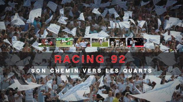 Rugby : Champions Cup - Racing 92, son chemin vers les quarts