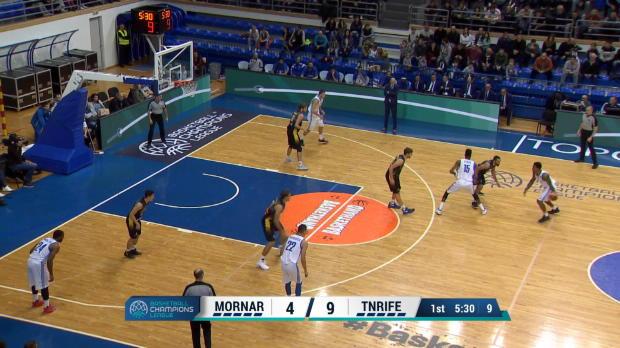 KK Mornar 72-89 Iberostar Tenerife