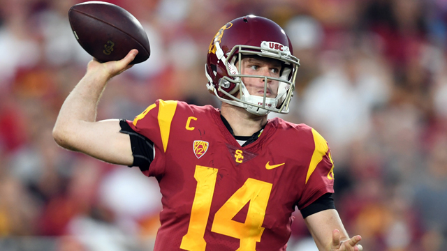 Mike Mayock believes Cleveland Browns will pick Sam Darnold; 'draft starts at No. 2 with New York Giants'