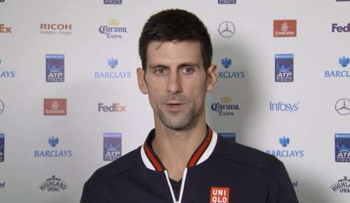 Djokovic Interview: ATP London RR