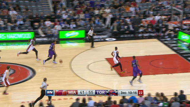 Steal of the Night: Amir Johnson