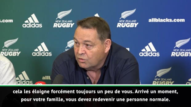 Rugby : Nouvelle-Zélande - Hansen explique les raisons de son départ fin 2019
