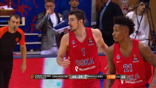 Basket : Euroligue (18e j.) - De Colo et le CSKA Moscou surclassent l'Efes Istanbul