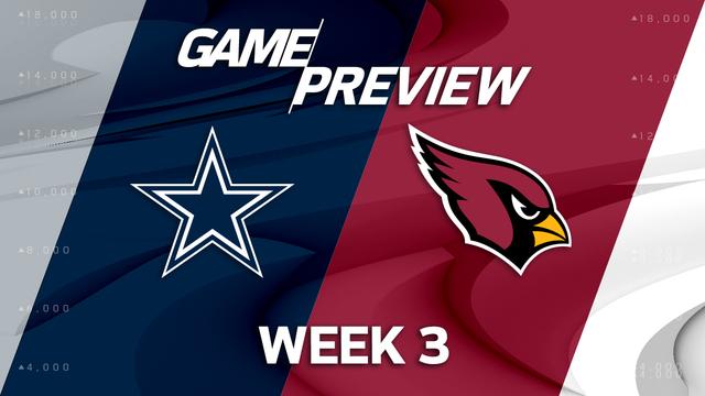 Dallas Cowboys vs. Arizona Cardinals preview | 'NFL Playbook'