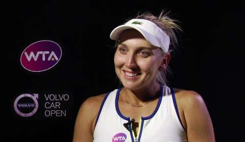 Vesnina Interview: WTA Charleston SF