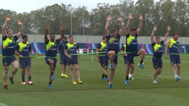 CdM 2015 - L'Australie savoure encore la victoire � Twickenham
