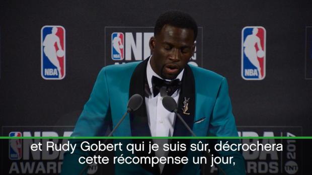 "Basket : Récompense - Green - ""Gobert sera défenseur de l'année un jour"""