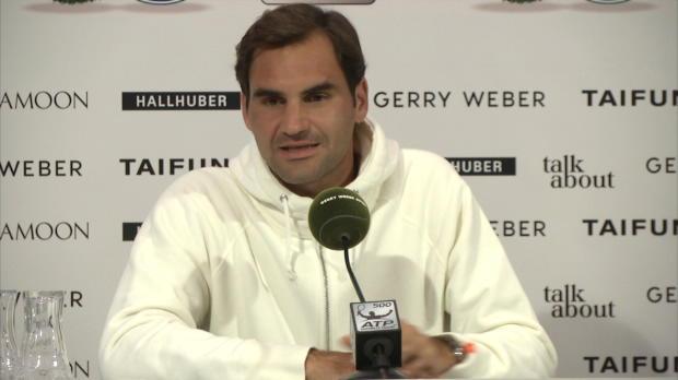 Halle: Federer über Rekorde und seinen Rhythmus