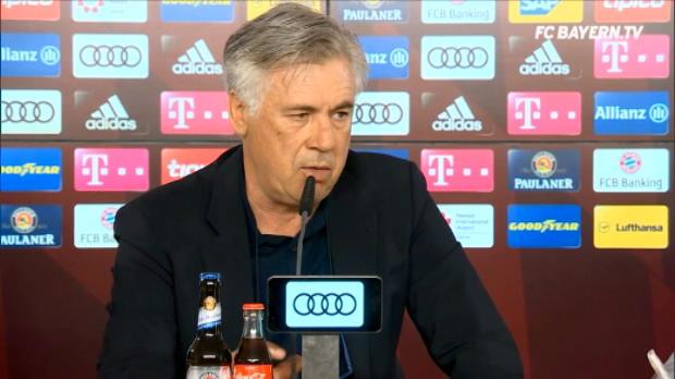 كرة قدم: الدوري الالماني: انشيلوتي واثق من دعم النادي له
