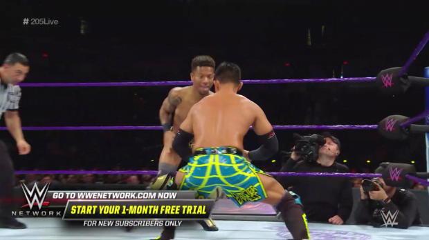 Akira Tozawa vs. Lio Rush: WWE 205 Live, July 17, 2018