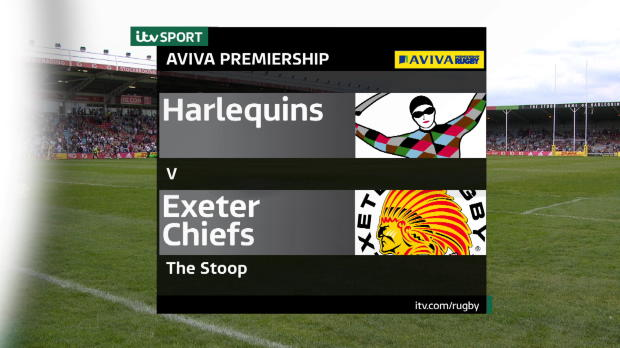 Aviva Premiership - Highlights - Harlequins v Exeter Chiefs