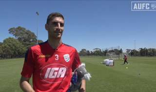 Adelaide United defender, Iacopo La Rocca, has officially become an Aussie!