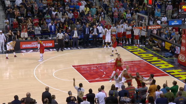 Steal of the Night - Kent Bazemore