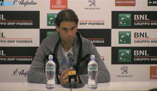 Nadal Interview: ATP Rome 2R