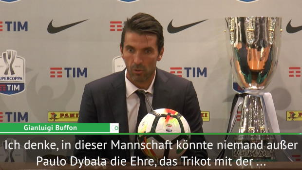 "Buffon: ""Einzig Dybala verdient Nummer zehn"""