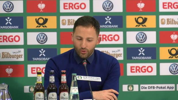 Tedesco: Kein Wunschgegner für Pokal-Halbfinale
