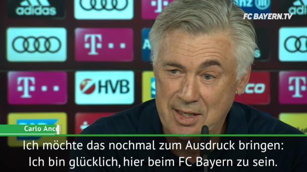 """Ancelotti: """"Glücklich hier bis Vertragsende"""""""