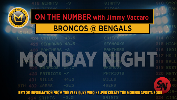 Jimmy V on Broncos @ Bengals