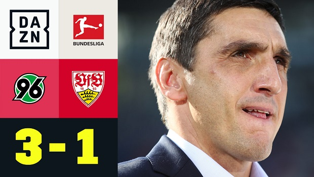 Bundesliga: Hannover 96 - VfB Stuttgart | DAZN Highlights