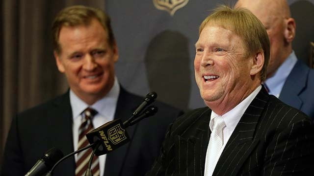 How much interest do the Raiders and NFL have in Las Vegas?
