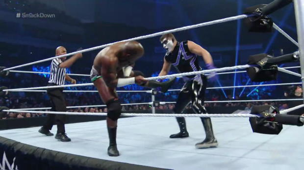Apollo Crews vs. Stardust: SmackDown, April 28, 2016