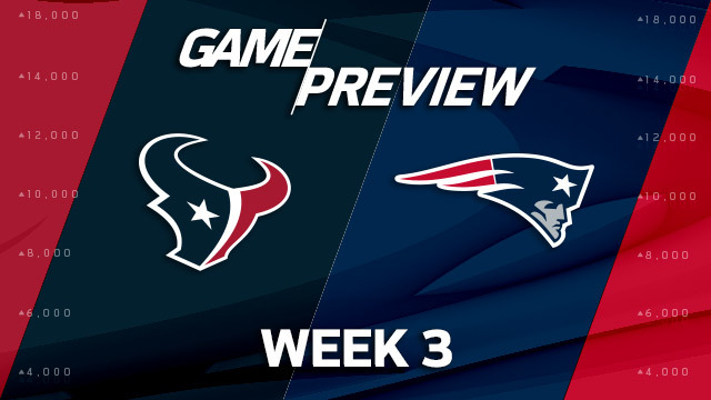 Houston Texans vs. New England Patriots preview | 'NFL Playbook'