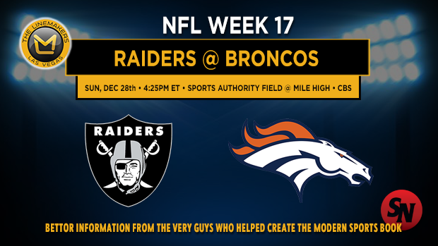Oakland Raiders @ Denver Broncos
