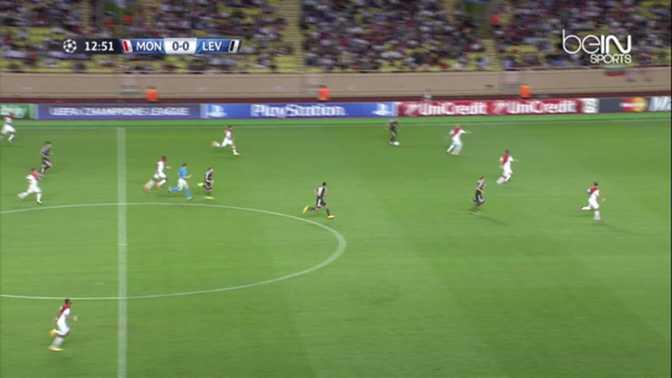 LdC : Monaco 1-0 Bayer Leverkusen