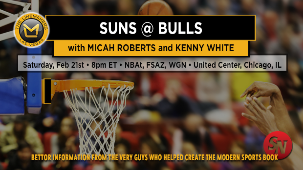 Saturday NBA: Suns @ Bulls