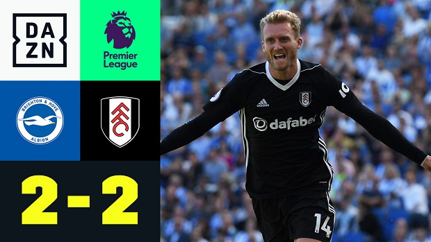 Premier League: Brighton - Fulham | DAZN Highlights