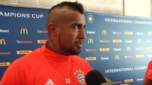 """Vidal: """"Hoffe auf bestes Jahr meiner Karriere"""""""
