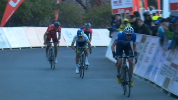 Tour de Pek�n - Gilbert, a un paso de la victoria